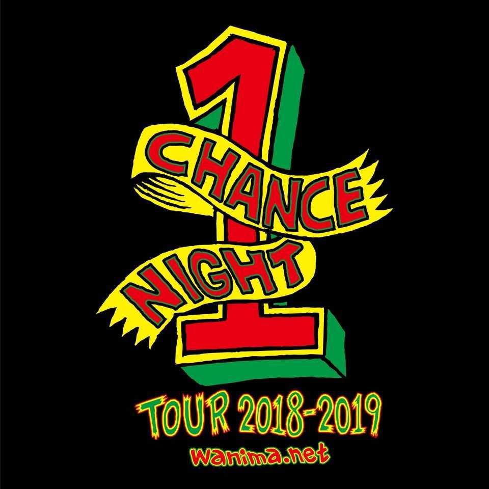 『1CHANCE NIGHT TOUR 2018-2019』ツアーロゴ