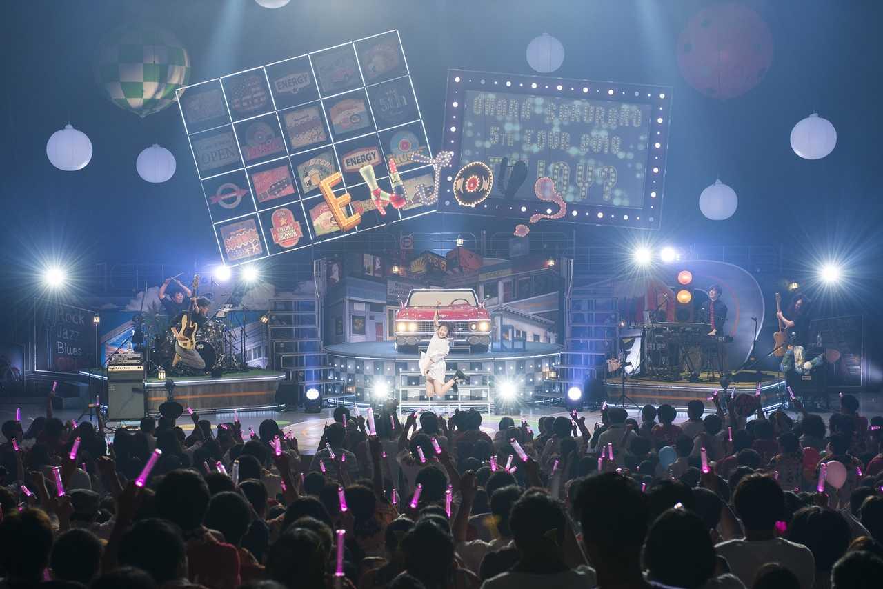 Blu-ray&DVD『大原櫻子 5th TOUR 2018 ~Enjoy?~』より photo by 田中聖太郎