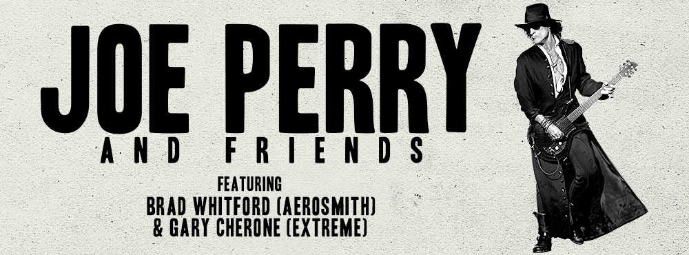 『JOE PERRY AND FRIENDS JAPAN Tour 2018』