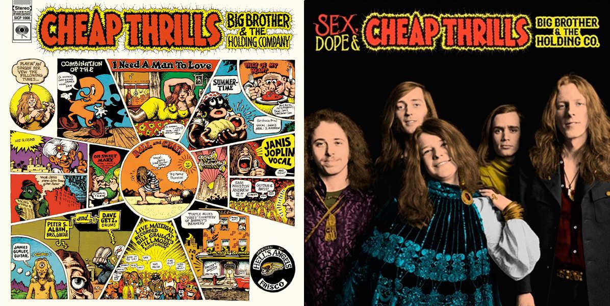 『チープ・スリル』(左)&『チープ・スリル(50周年記念エディション)』(右)