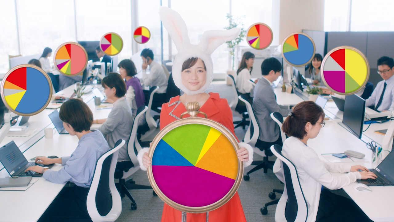 TV-CM「FUJITSU Software TIME CREATOR時計うさぎ篇」