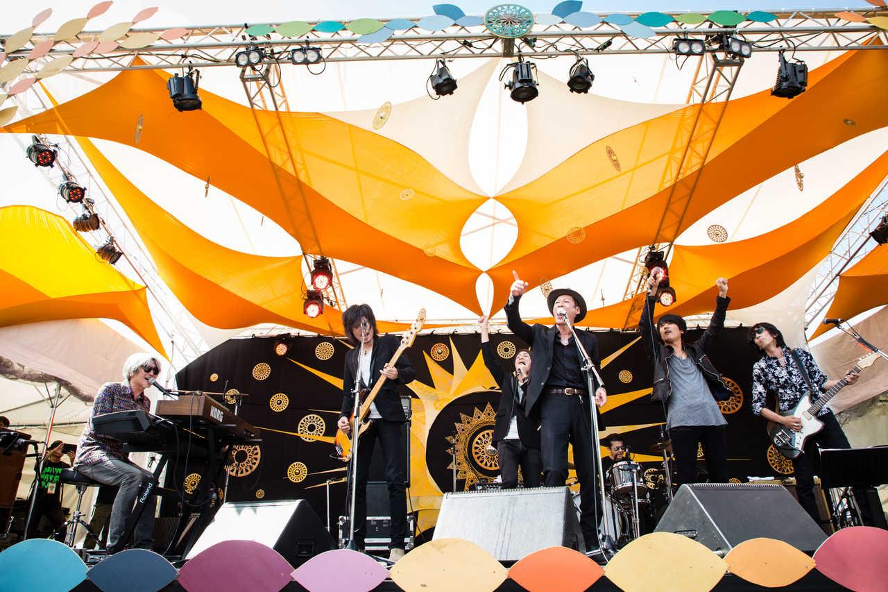 9月23日@『中津川 THE SOLAR BUDOKAN 2018』 Live photo by 三浦麻旅子