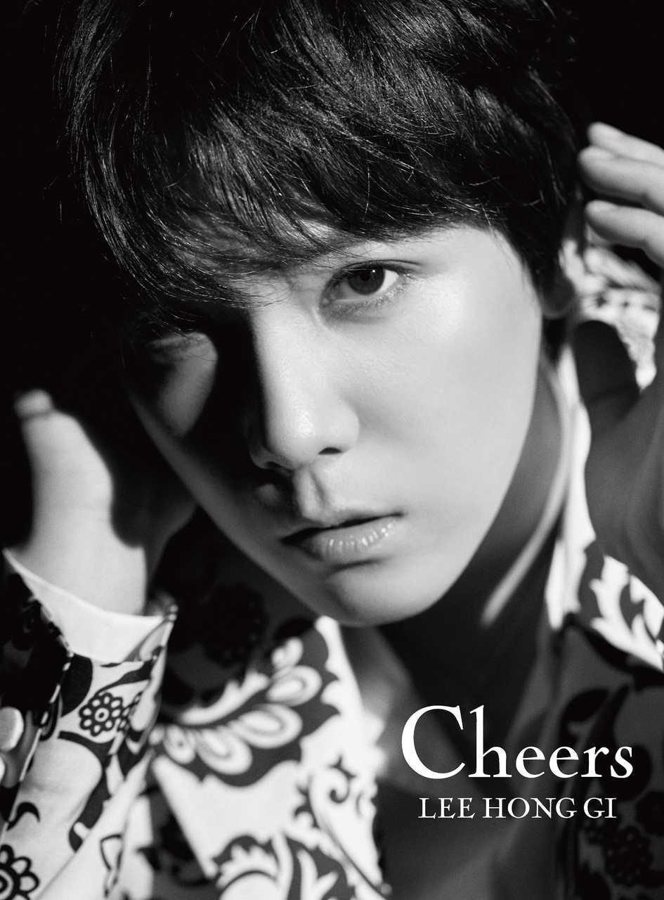 FTISLAND イ・ホンギ 約3年ぶりのソロアルバム『Cheers』発売!ジャケット写真、アーティスト写真も同時公開