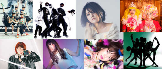 『Music×Tech Showcase』出演アーティスト