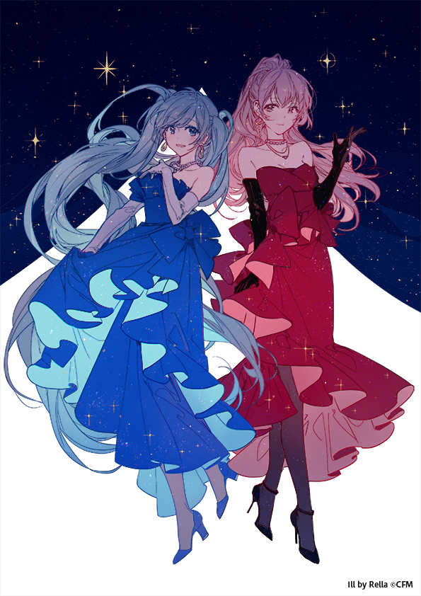ジャズシンガー風 初音ミク&巡音ルカ