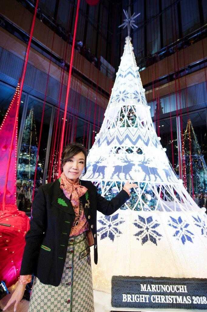 今年はユーミンとコラボ!丸の内のブライトクリスマス、あの名曲に合わせたツリーイルミネーション!