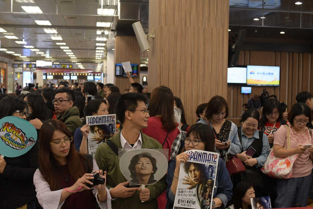 木村拓哉、台湾で熱烈歓迎!ASIA FASHION AWARD 2018に参加