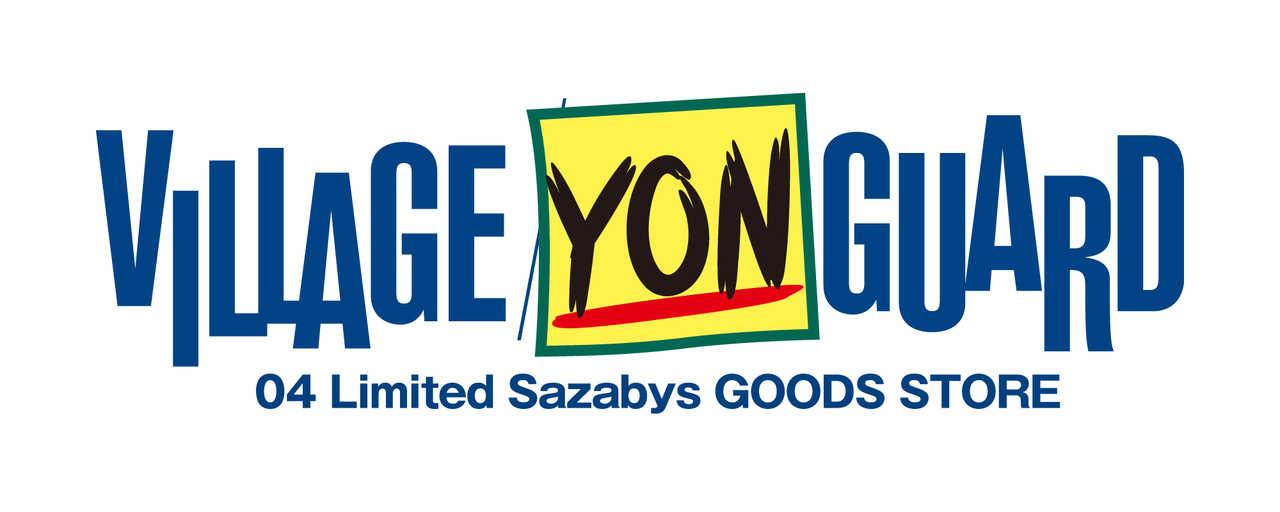 04 Limited Sazabys × ヴィレッジヴァンガード期間限定ショップ『VILLAGE YONGUARD』ロゴ