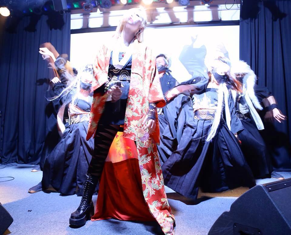 2014年1月30日、魔界少女拳が六本木BeeHiveに再び降臨