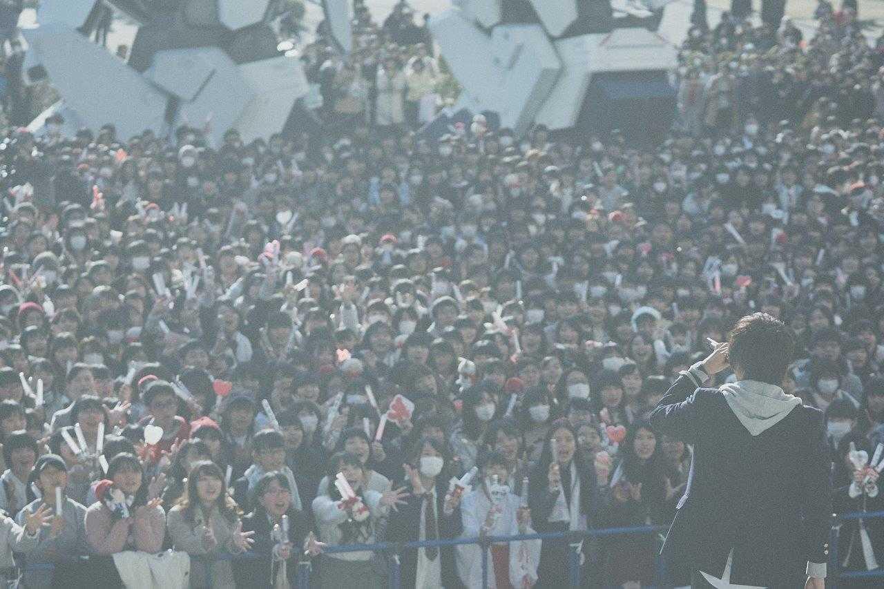 1月19日@ダイバーシティ東京プラザ 2Fフェスティバル 広場