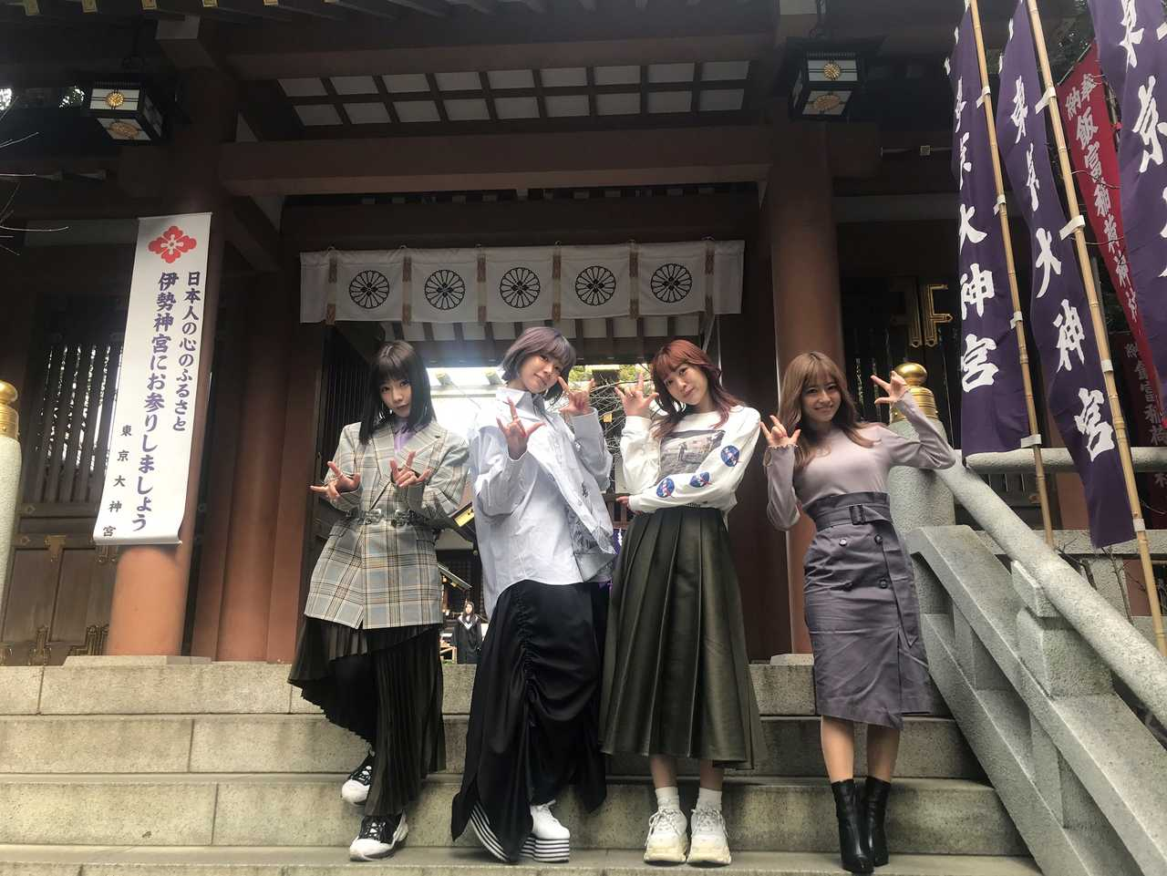 SILENT SIREN@東京大神宮