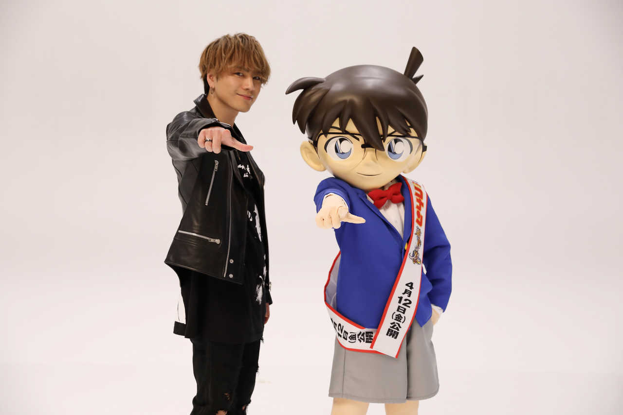 HIROOMI TOSAKA ×『名探偵コナン』