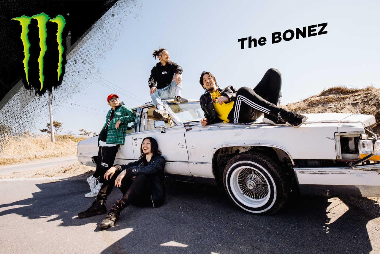 The BONEZ × モンスターエナジー