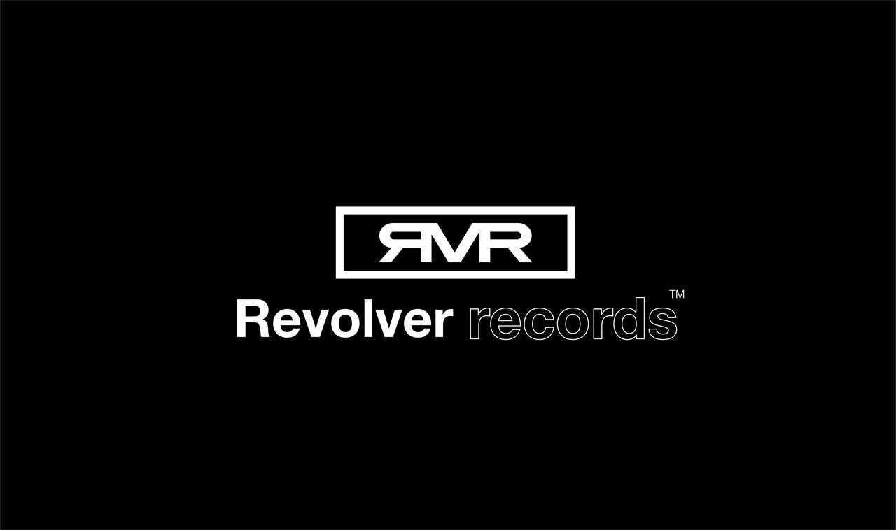 『Revolver records』ロゴ