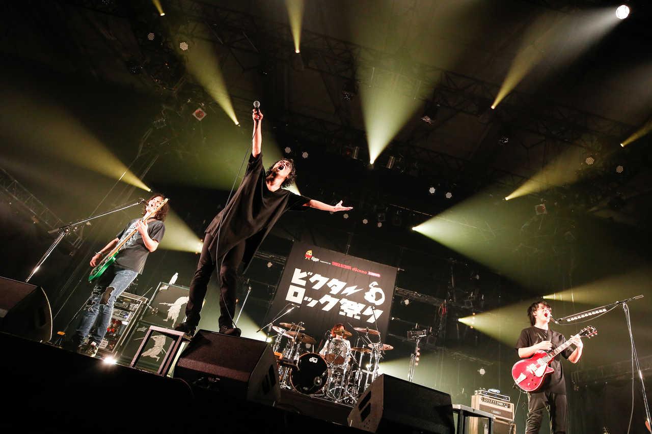 3月16日@『ビクターロック祭り2019』(THE BACK HORN)  photo by タマイシンゴ(SOUND SHOOTER)