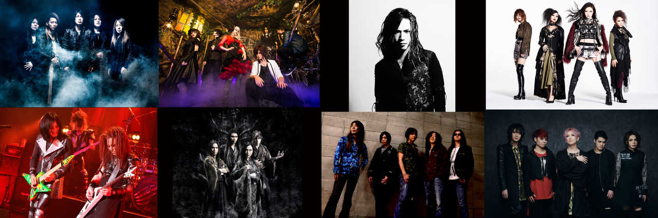 『PURE ROCK JAPAN LIVE 2019』出演者