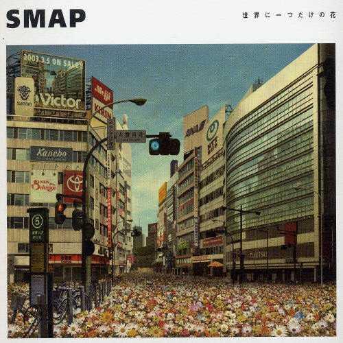 """SMAPの『世界に一つだけの花』に出てくる""""花""""が表すものとは?"""