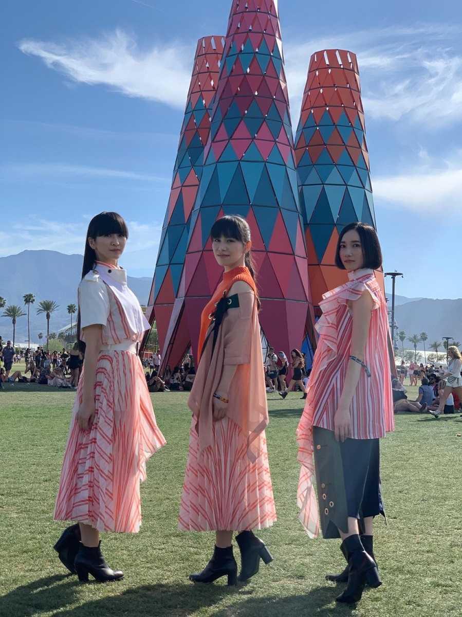 Perfume アメリカ最大の音楽フェス コーチェラで観客を魅了!