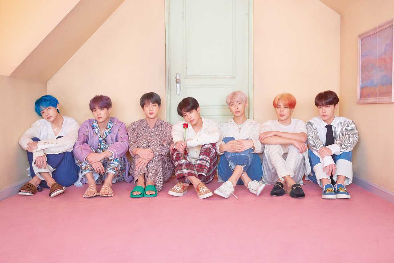 BTS、最新アルバム『MAP OF THE SOUL : PERSONA』日本でも1位!
