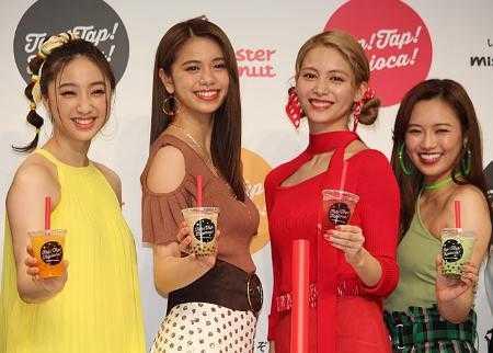 (左から)坂東希、佐藤晴美、楓、山口乃々華