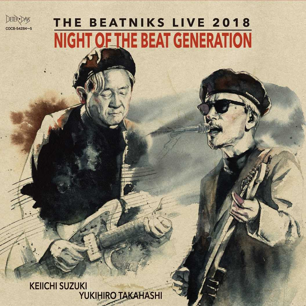 ライブアルバム『NIGHT OF THE BEAT GENERATION』