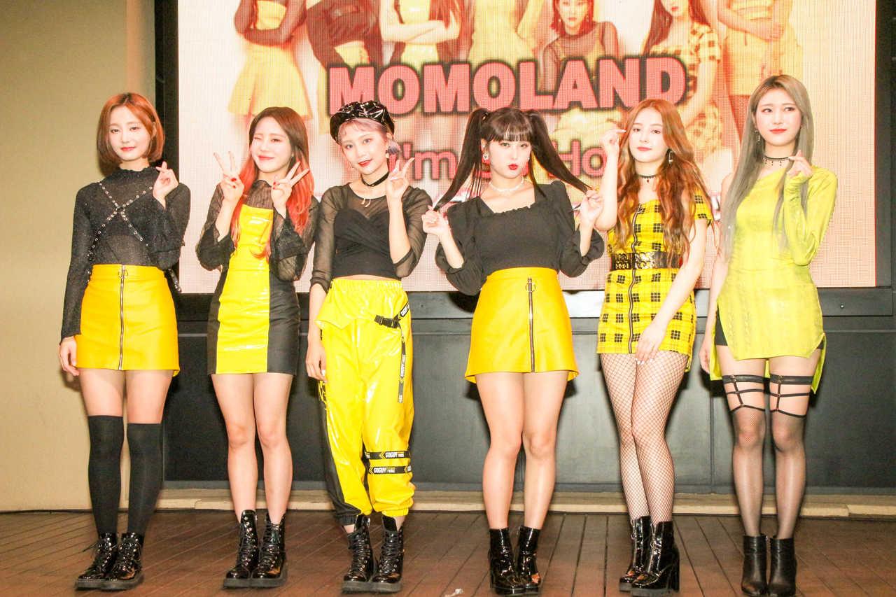 MOMOLAND、集まった2000人のファンの前で「So Hot」なライブを披露