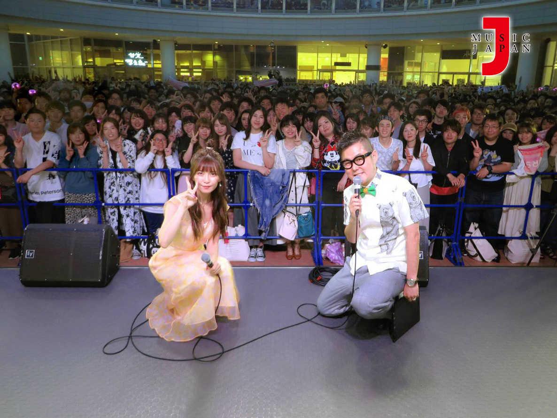 宇野実彩子 (AAA)公開収録イベントの模様を6月放送!
