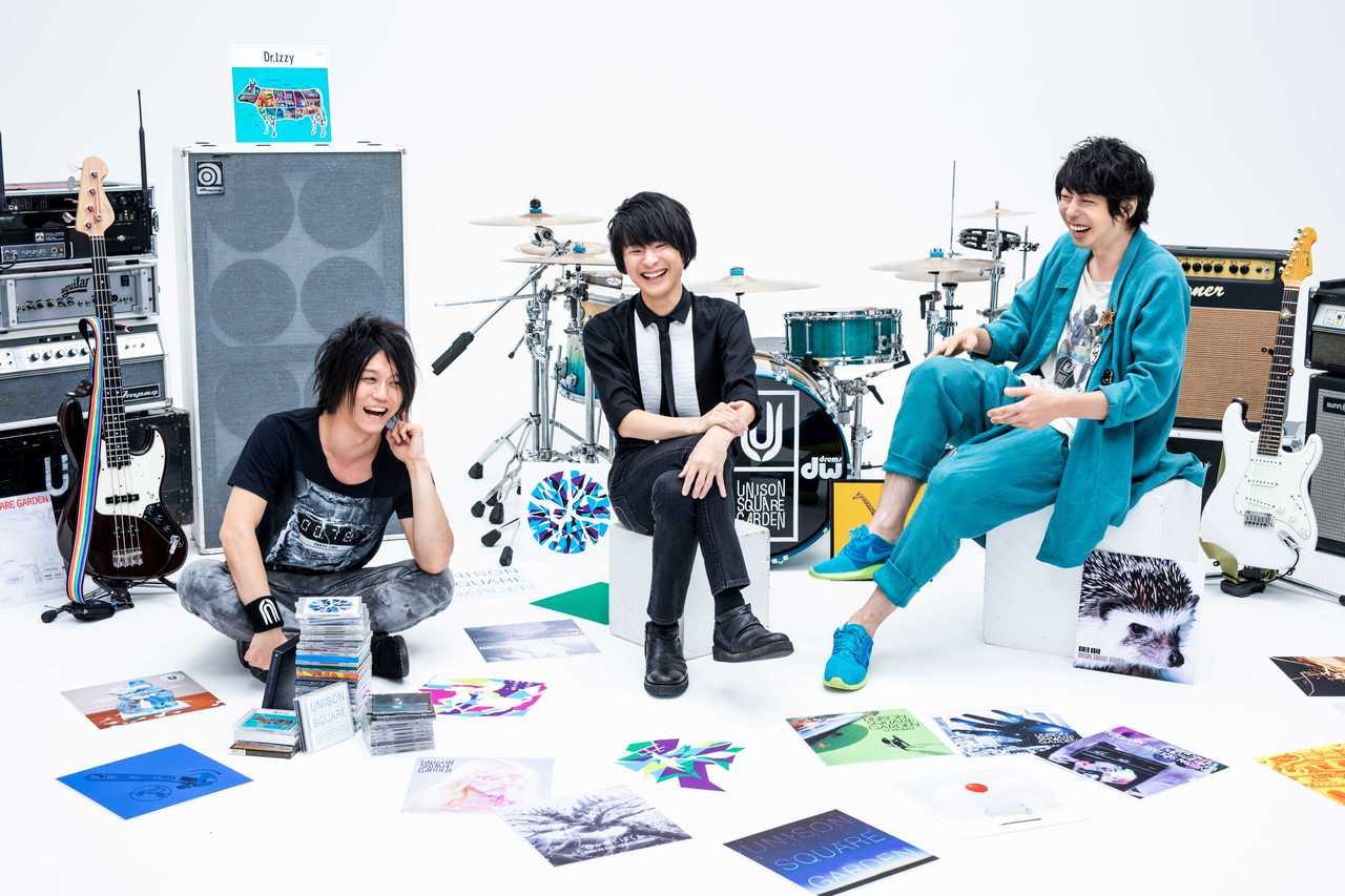 UNISON SQUARE GARDEN、8 月開催トリビュートライブのゲストアーティスト発表!