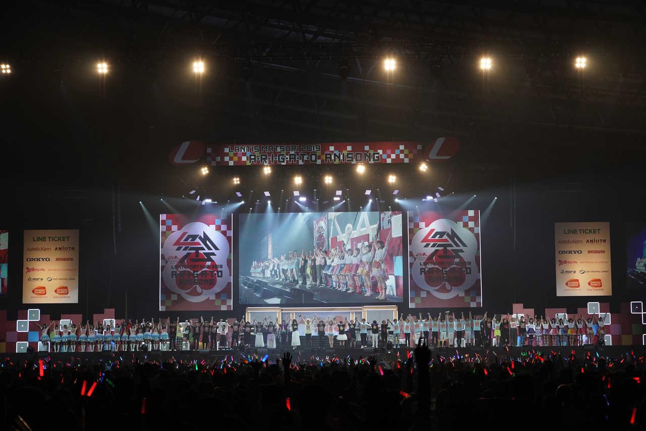 6月22日@幕張メッセ 国際展示場 9~11ホール(Line up)