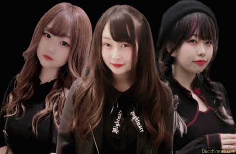 『メメント・モリ』(左から)天国うさぎ・姫里恋那・桜宮るい