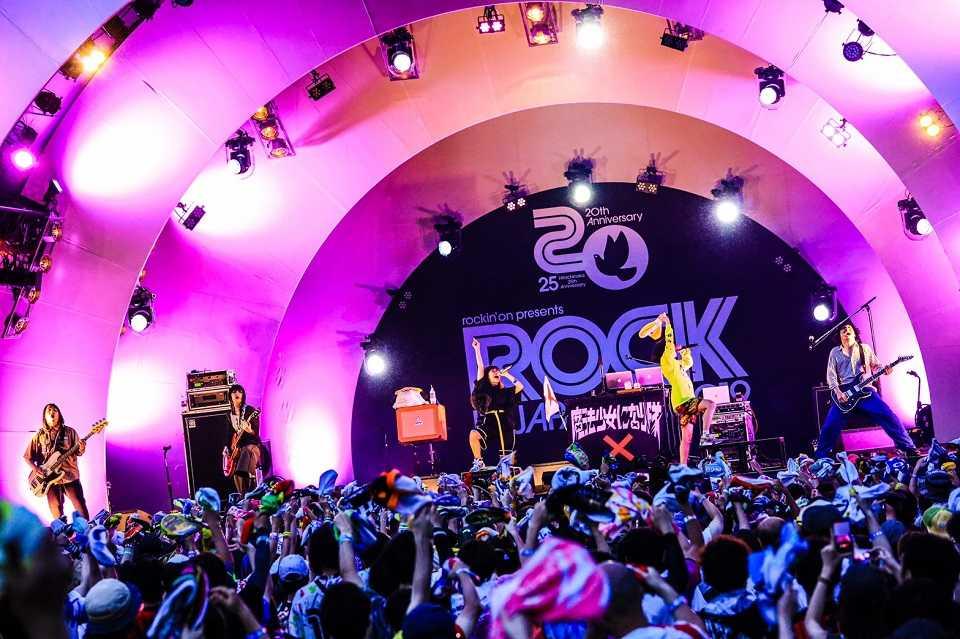 8月11日(日)@『ROCK IN JAPAN FESTIVAL 2019』 photo by 白石達也
