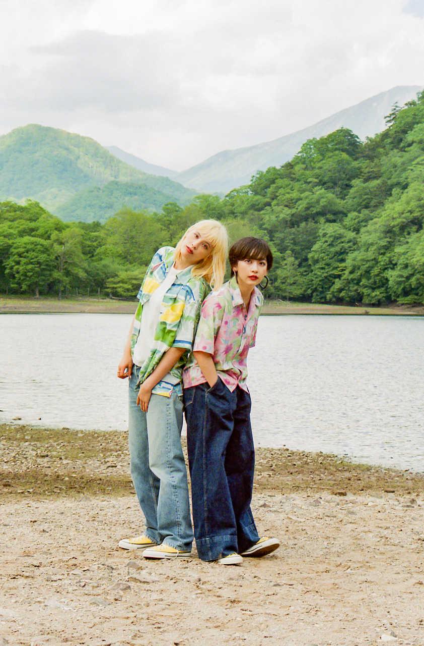L→R Rachel、Mamiko