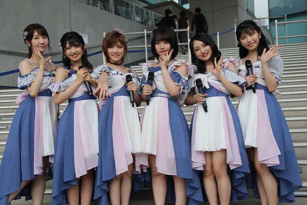 AKB48「サステナブル」リリースイベント:矢作萌夏・岡田奈々