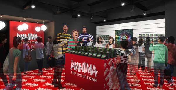 『WANIMA POP UPSIDE DOWN』店内イメージ (okmusic UP's)