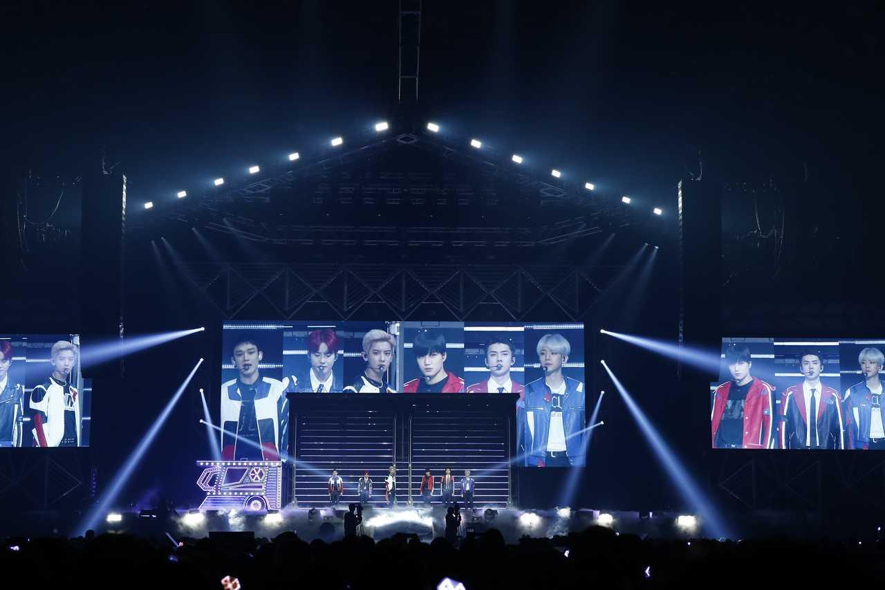EXO、5度目のワールドツアー日本公演が宮城でファイナル!最新曲披露も!