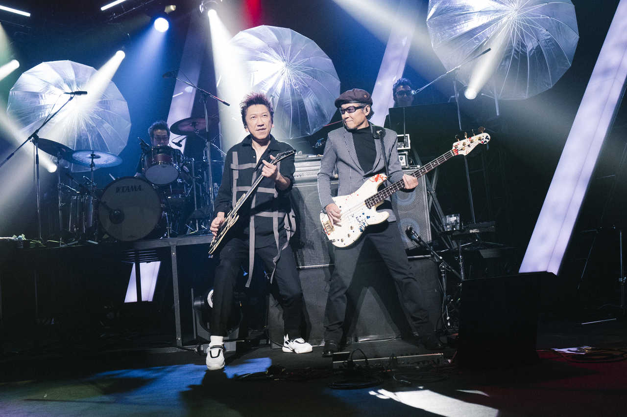 "『HOTEI GUITARHYTHM VI TOUR 2019 ""REPRISE"" supported by ひかりTV』高崎芸術劇場 大劇場 Photo by Michiko Yamamoto"