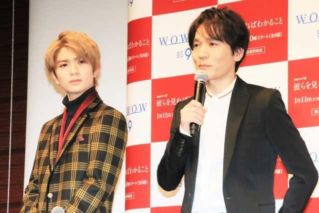 高橋優斗(左)と長野博
