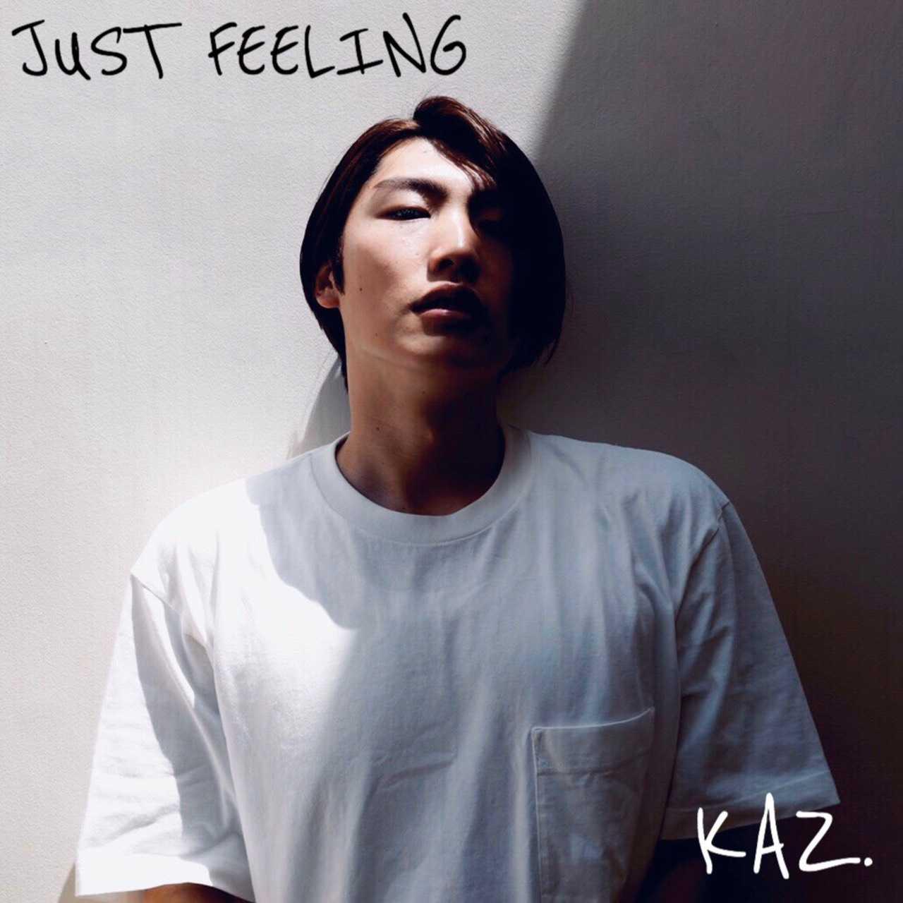 KAZ.の1st digital SINGLE「JUST FEELING」に中国からも熱い視線