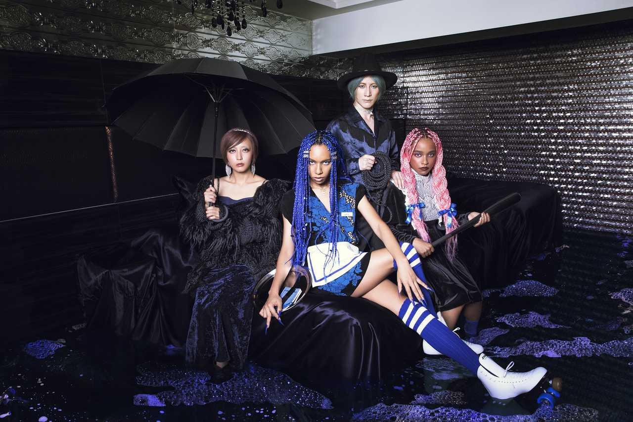 女王蜂、NEWアルバム『BL』収録情報公開!向井理主演ドラマオープニングテーマ「BL」が1/29配信開始
