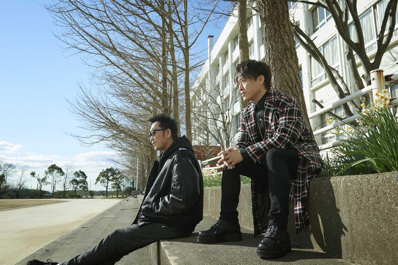 L→R 黒田俊介、小渕健太郎