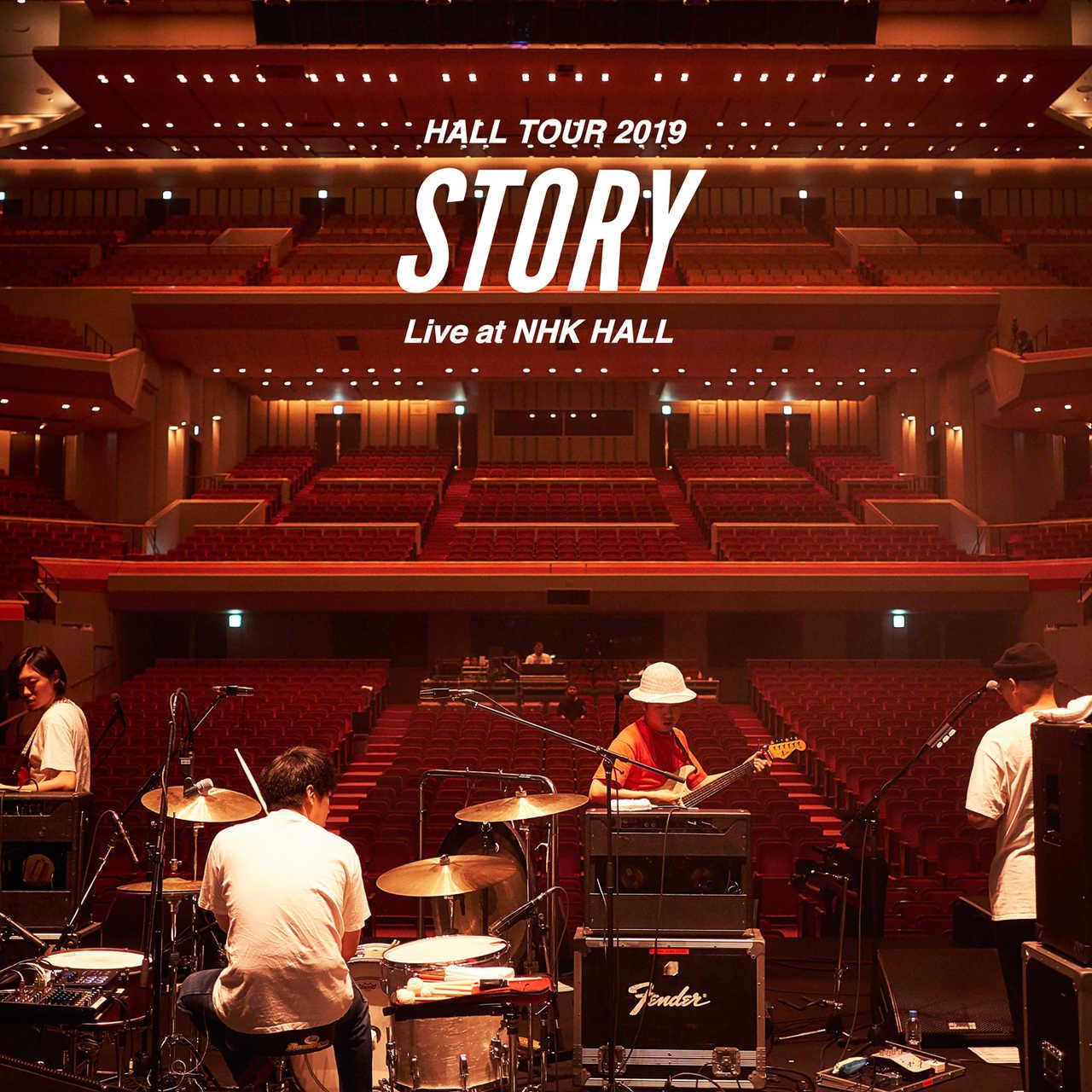 """ライブアルバム『HALL TOUR 2019 """"STORY"""" Live at NHK HALL』"""