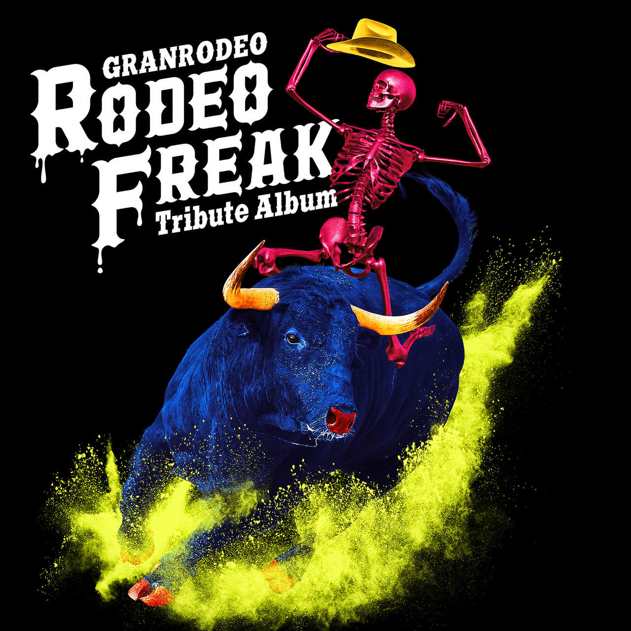 """アルバム『GRANRODEO Tribute Album """"RODEO FREAK""""』"""