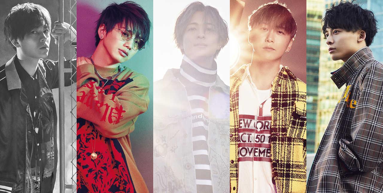 Da-iCE、ニューアルバム「FACE」4/29に発売決定!「Flight away」のMVも公開!