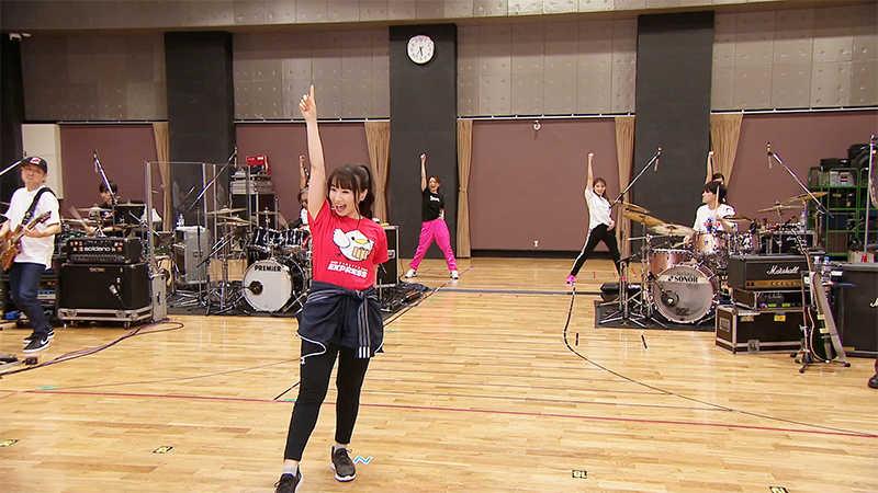 『LIVE RUNNERリハーサルスタジオミニライブ』