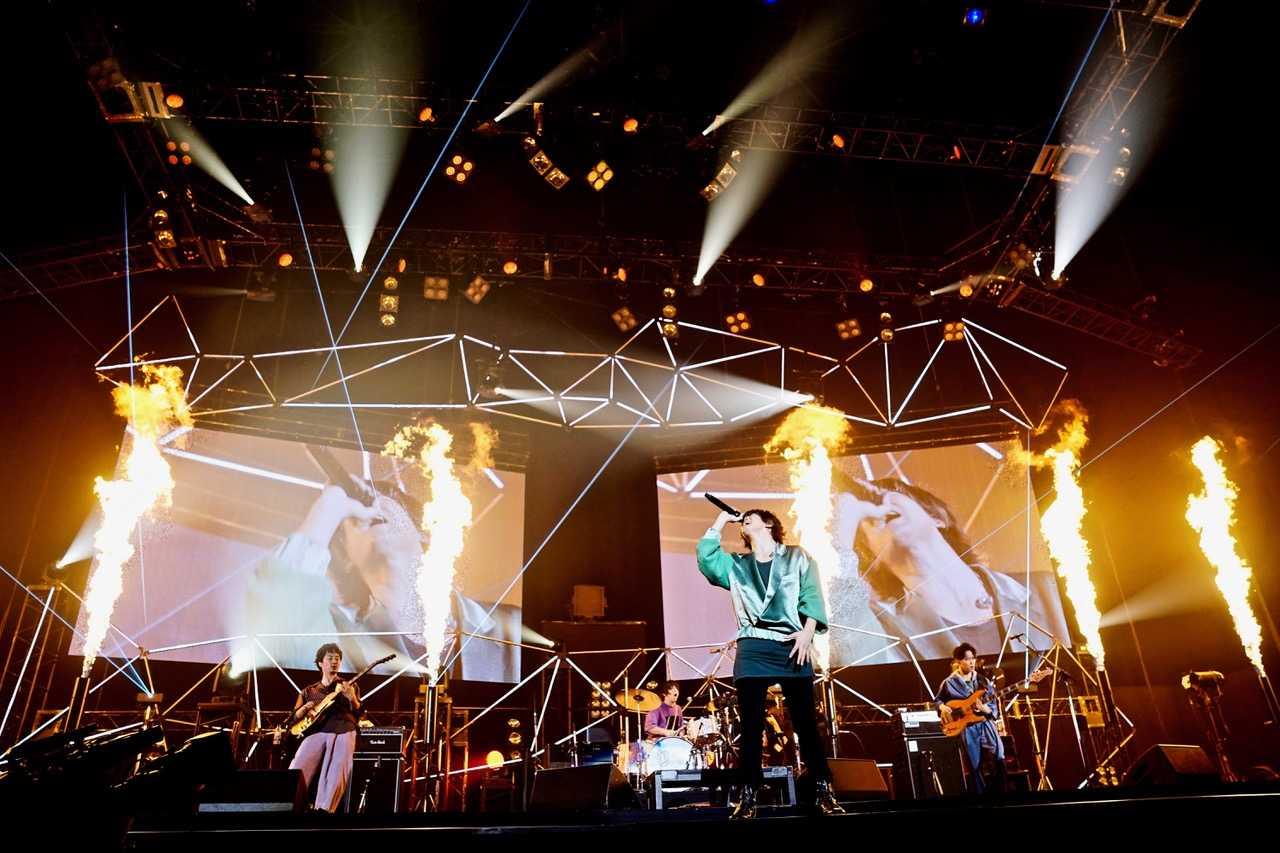 フレデリック、横浜アリーナ1st Live DVD & Blu-rayジャケ写公開&リリース詳細発表!