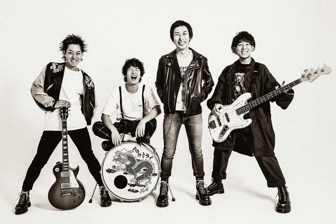 ハルカミライ、7月8日(水)フルアルバム「THE BAND STAR」発売決定!