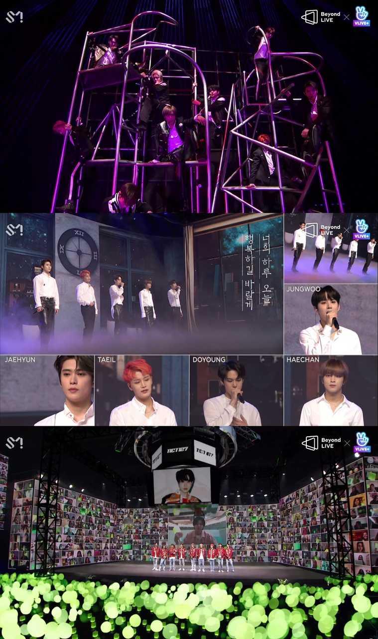 NCT 127、オンラインコンサート「Beyond LIVE」全世界129ヶ国の有料視聴者が熱狂!