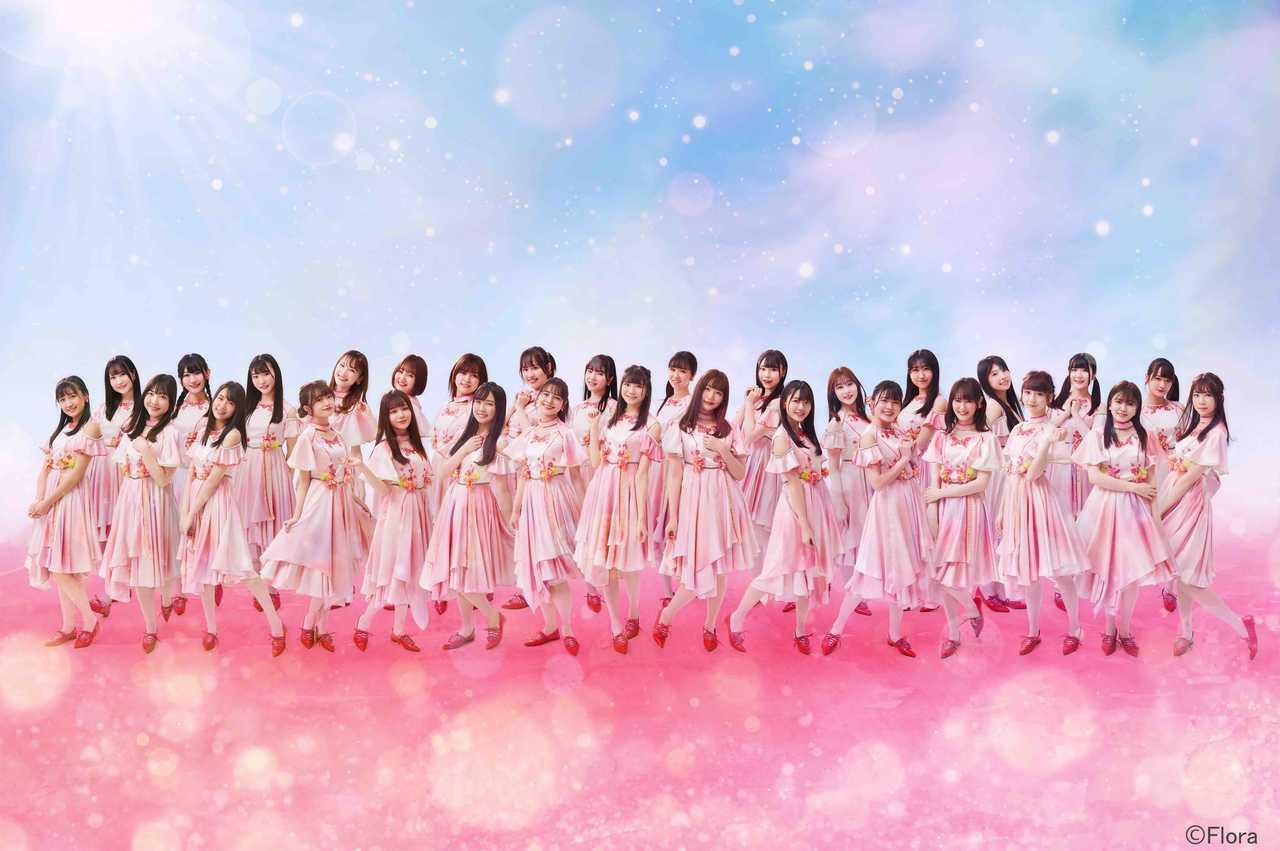 NGT48、5thSG「シャーベットピンク」の ジャケ写&カップリング曲のタイトル解禁!