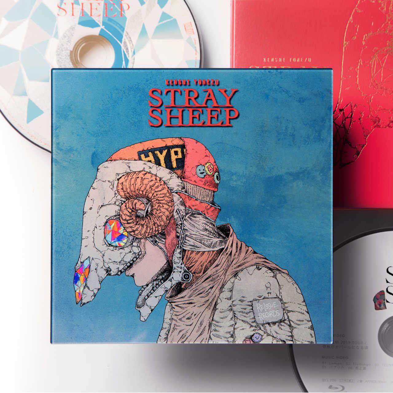アルバム『STRAY SHEEP』【アートブック盤(初回限定)】(CD+Blu-ray+アートブック)