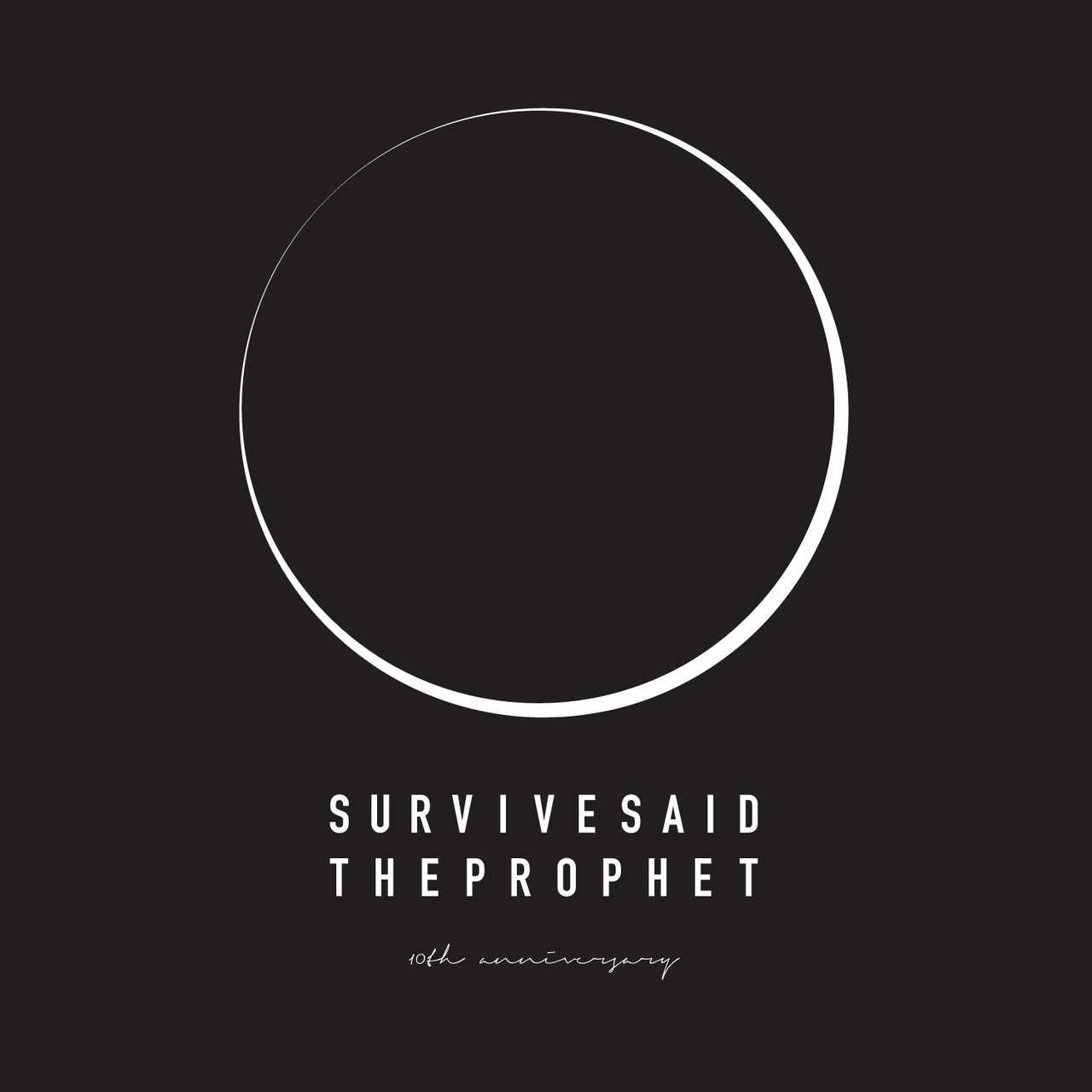 Survive Said The Prophet 10周年ロゴ